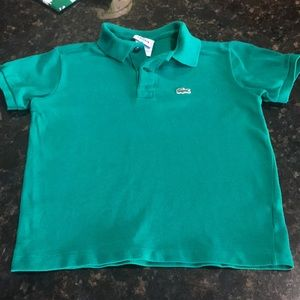 Lacoste size 8 polo shirt